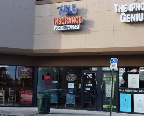 Able Assurance Agency: Fort Lauderdale & Oakland Park Locations